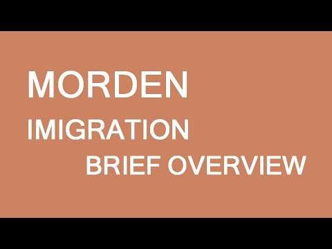 Morden immigration initiative. Brief overview. LP Group Canada