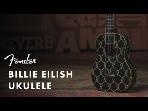 Exploring the Billie Eilish Signature Ukulele | Artist Signature Series | Fender