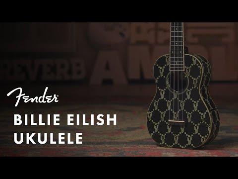Exploring the Billie Eilish Signature Ukulele   Artist Signature Series   Fender