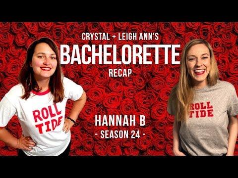 #BACHELORETTE RECAP HANNAH WEEK 6: Stay In Your Freakin' Lane