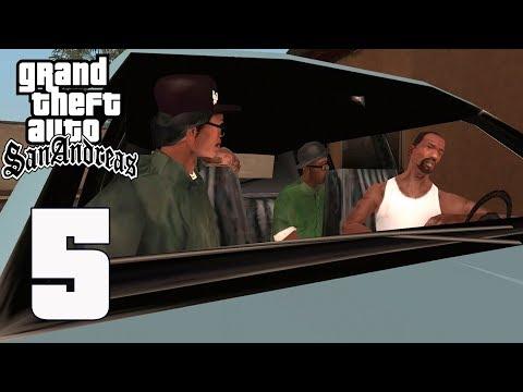 Grand Theft Auto(GTA) San Andreas - Gameplay Walkthrough Part 5 - Drive-thru(iOS, Android)