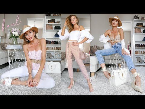 H&M HAUL & TRY ON // May 2020  // Summer Trends