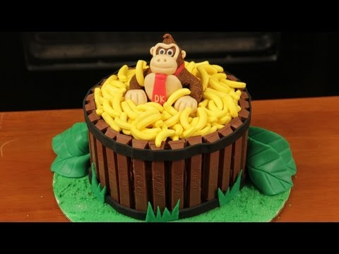 Save DONKEY KONG CAKE - NERDY NUMMIES Pictures