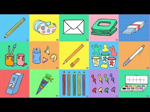 50 deutsche Sätze im Imperativ: Schule und Büro / German for children + beginners
