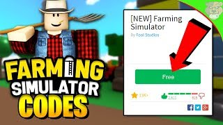ROBLOX FARMING SIMULATOR IS FREE!! [NEW CODE] (Update)