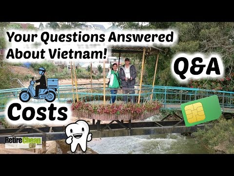 🏍 Driving a Motorcycle In Da Lat | Retire Cheap Vietnam 10