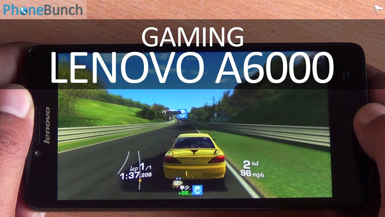 Lenovo A6000 Gaming Review Best Budget Gaming Smartphone Youtube
