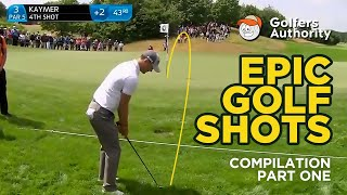 Epic Golf Shots Compilation (Part 1)