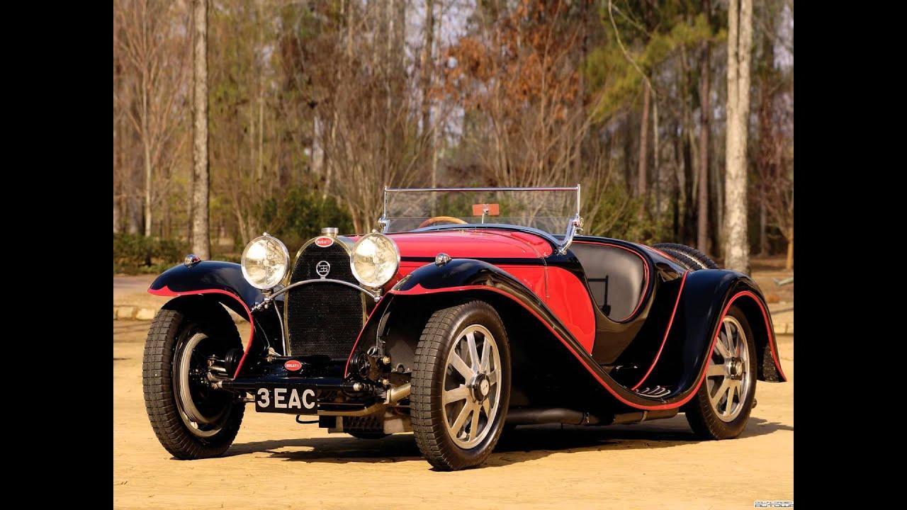 bugatti type 55 roadster - youtube