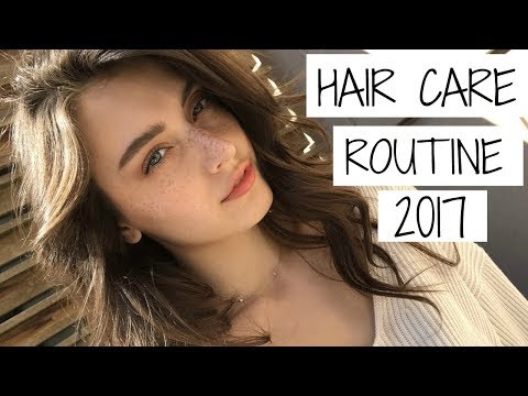 Hair Care Routine 2017 | Jessica Clements