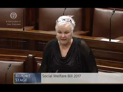 Brid Smith TD on youth discrimination in Social Welfare Bill 2017.