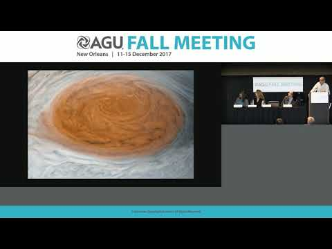 2017 Fall Meeting Press Conference: Science from NASA's Juno mission to Jupiter