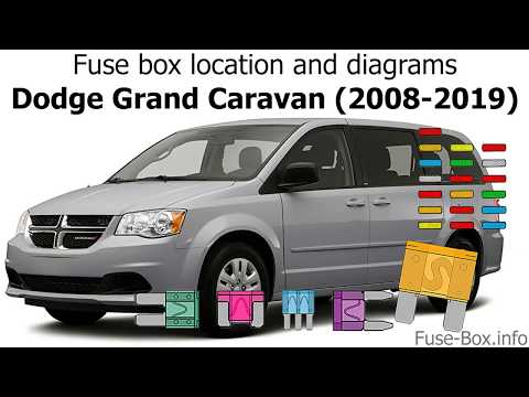 Fuse box location and diagrams: Dodge Grand Caravan (2008-2019) - YouTubeYouTube