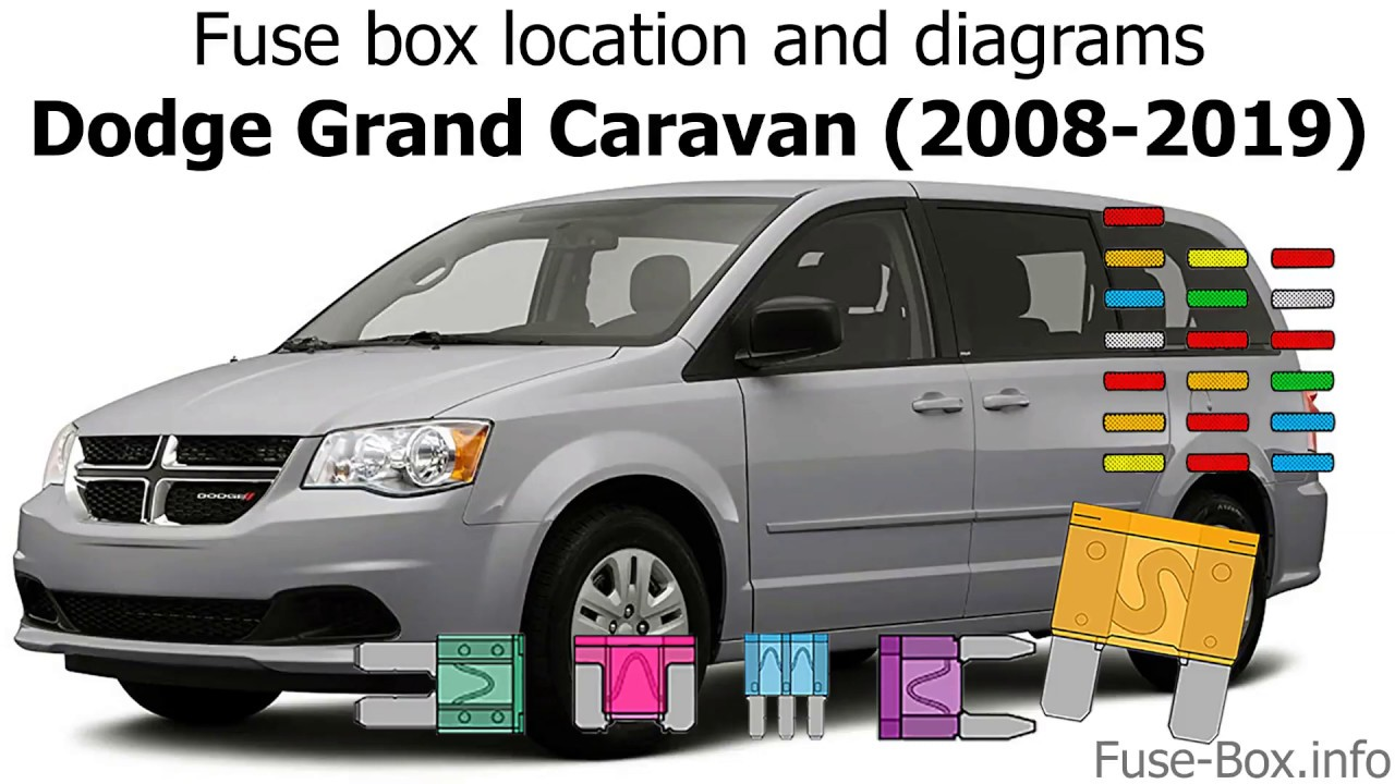 [ANLQ_8698]  Fuse box location and diagrams: Dodge Grand Caravan (2008-2019) - YouTube | 2008 Dodge Caravan Fuse Box |  | YouTube