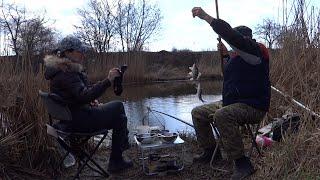 Рыбалка на поплавок Ловля карася в апреле