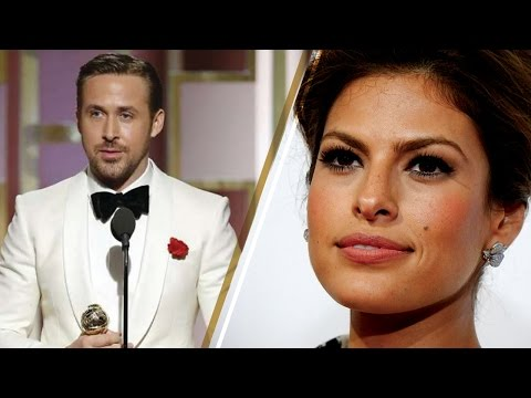 Thumbnail: Ryan Gosling Dedicates 2017 Golden Globes Award to Wife Eva Mendes in Emotional Acceptance Speech