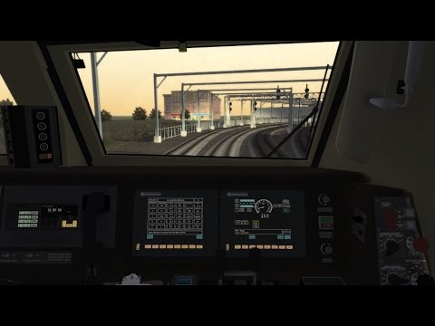 TS2015 HD: MBTA Providence Line Train 813 Cab Ride from Boston South Station to Wickford Junction
