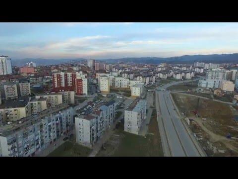 Prishtina from above (Bregu i diellit II)