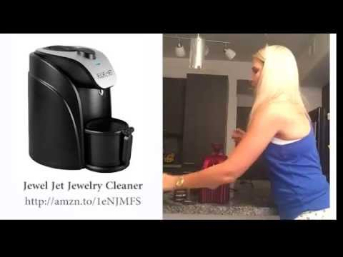 How to safely STEAM clean your ring with Jewel Jet Jewelry Cleaner