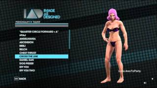 Saints Row 3 taunts and compliments by Lola (very funny)