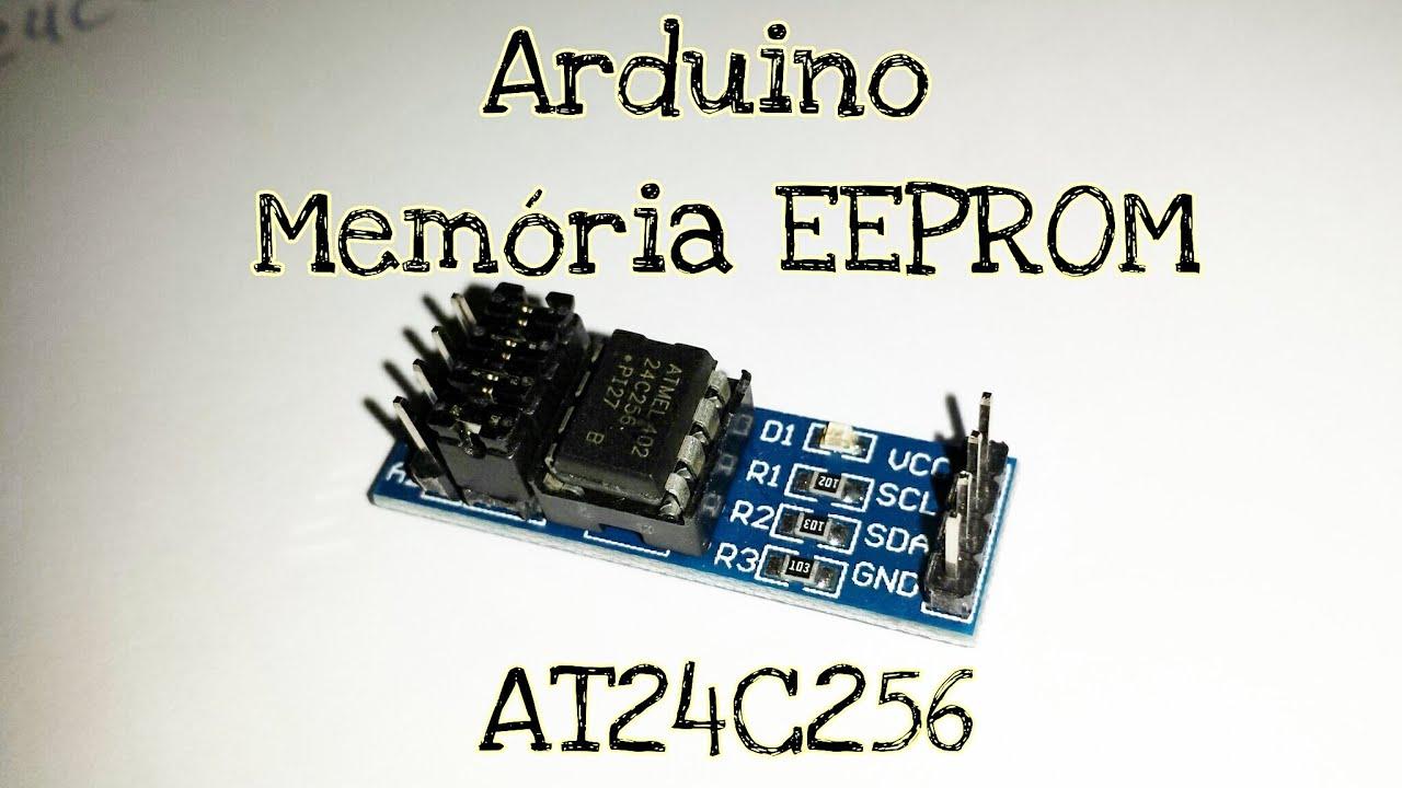 Arduino memória eeprom i c externa at
