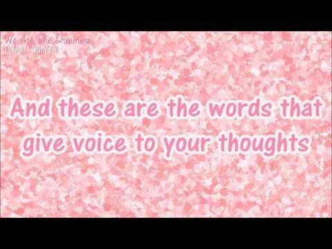 We Are The Dreamers - Tiffany Thompson {LYRICS}