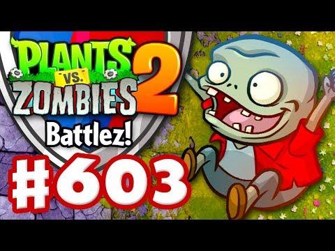 BATTLEZ! What Ho, Sir Costalot! - Plants vs. Zombies 2 - Gameplay Walkthrough Part 603