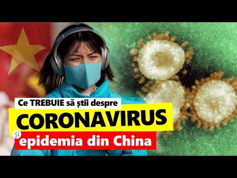 Coronavirus. Epidemia Din China