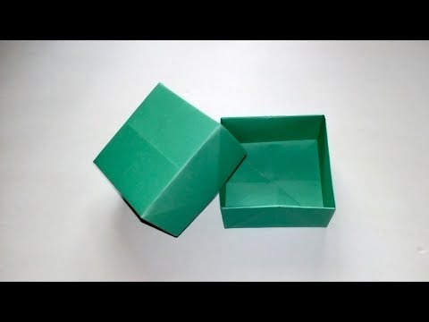 How To Make a Paper Box - Origami Box Tutorial - DIY Paper Gift Box
