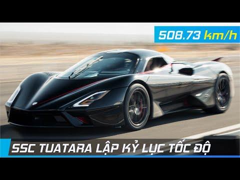SSC Tuatara lập KỶ LỤC TỐC ĐỘ | Siêu xe thương mại đầu tiên vượt ngưỡng 500 km/h | XE24h