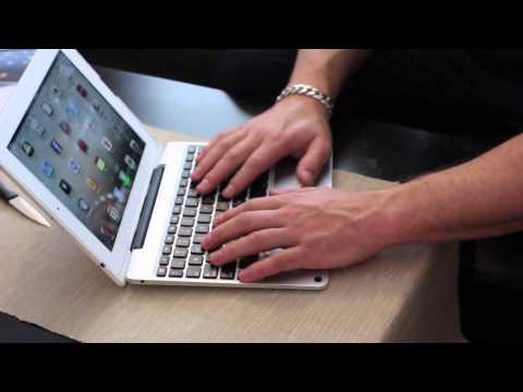 ClamCase Pro iPad Bluetooth Keyboard Case