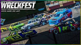 Indoor NASCAR Demolition Derby! | Wreckfest | NASCAR Legends