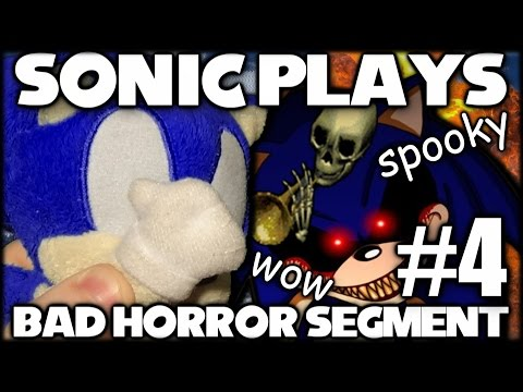 Sonic Plays: Bad Horror Segment #4 (More Crappy EXE Games) [60 FPS]