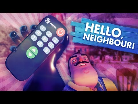 THE REMOTE IS THE KEY TO THE CODE!?!? (Hello Neighbor Secrets!! / Hello Neighbor Gameplay)
