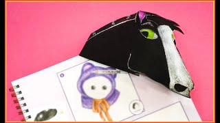LET'S READ WITH THIS FANTASTIC BOOKMARK- Funny Melon Paper