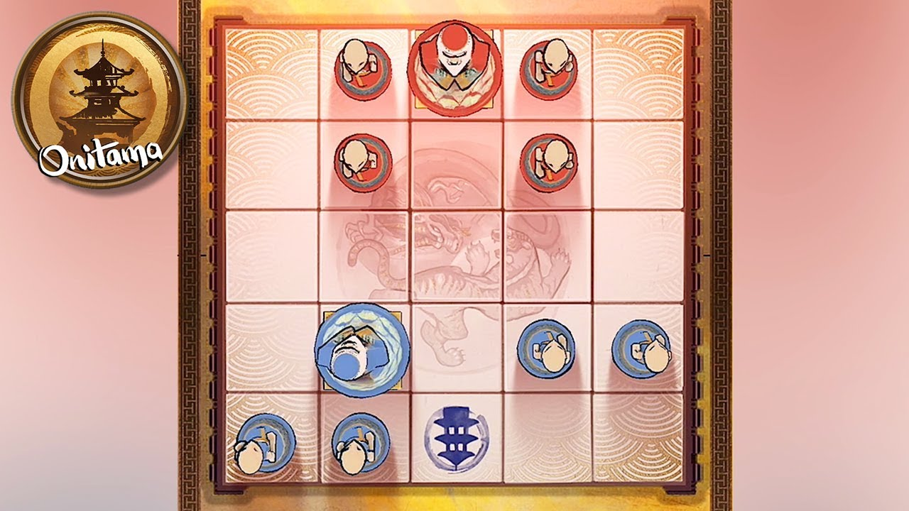 Onitama: The Board Game - Gameplay Trailer (iOS, Android) - YouTube