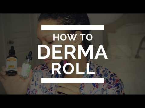 How To Use A Derma Roller [ A Beginners Guide to Perfect Skin]