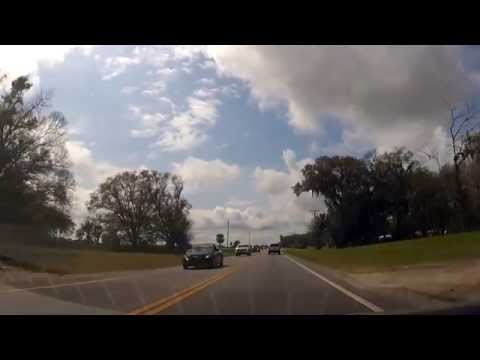 Driving around Zephyrhills, Florida