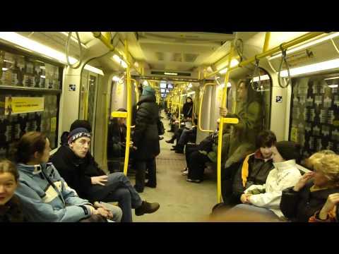 Riding the Berlin Metro 2010