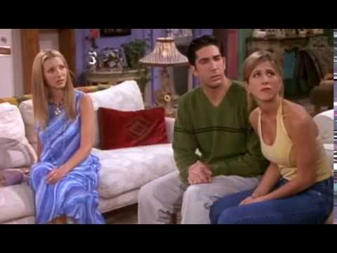 Friends - The Jellyfish Story (Chandler Peed On Monica)
