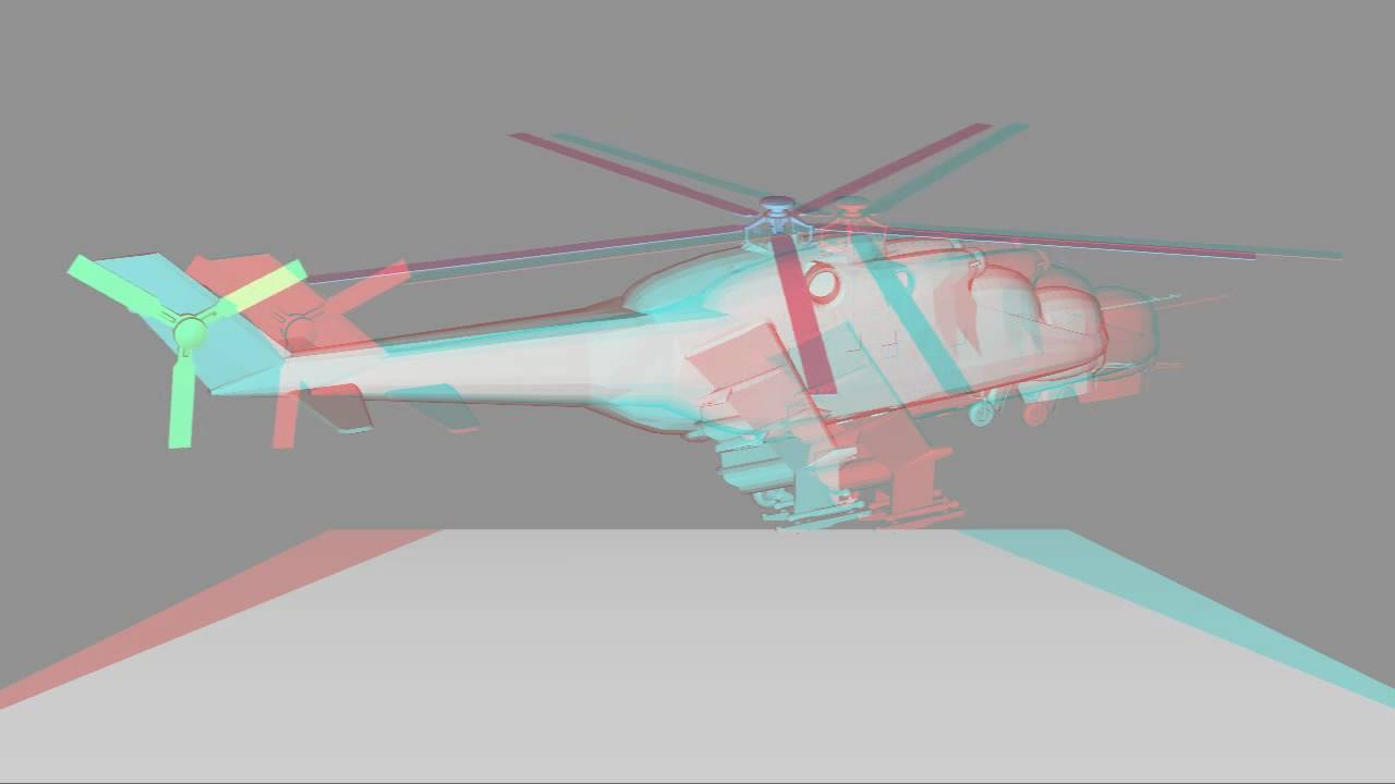Anaglyph 3D - Object out of the screen