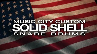 Pearl Music City Custom / Solid Shell Snare Drums