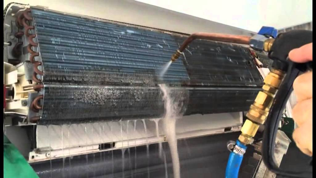Hydrokleen Air Conditioner Clean Demonstration Youtube