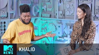 Khalid Talks 'Young Dumb & Broke' Music Video | MTV News