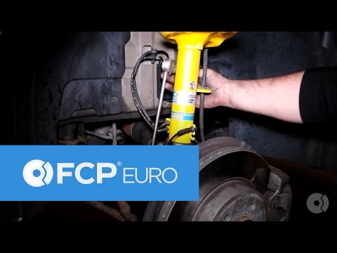 BMW X3 Bilstein Suspension Install (4600 Shock/Struts & H&R Springs) | FCP Euro