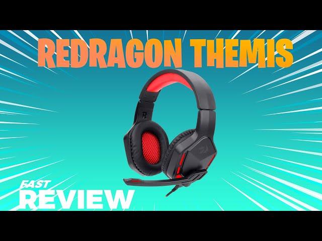 REDRAGON THEMIS 2 - HEADSET GAMER BOM E BARATO