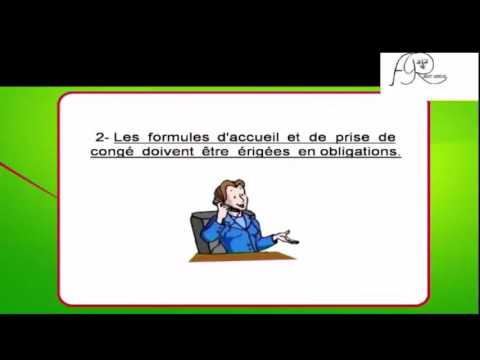 Formation professionelle des standardistes partie I Telephone