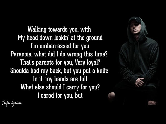 Let You Down - NF (Lyrics)