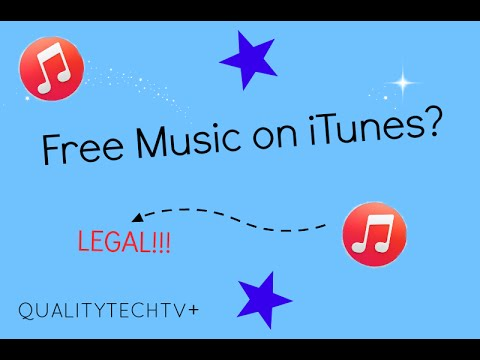 FREE: How to Get Free Music on iTunes (LEGAL)