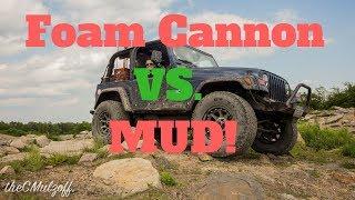 FOAM CANNON VS. DRY MUD